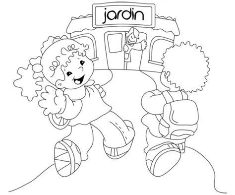 imagenes infantiles jardin de infantes dibujos del d 237 a de los jardines de infantes para colorear