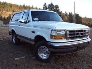 sell used 1993 ford bronco xlt lariat sport utility 2 door