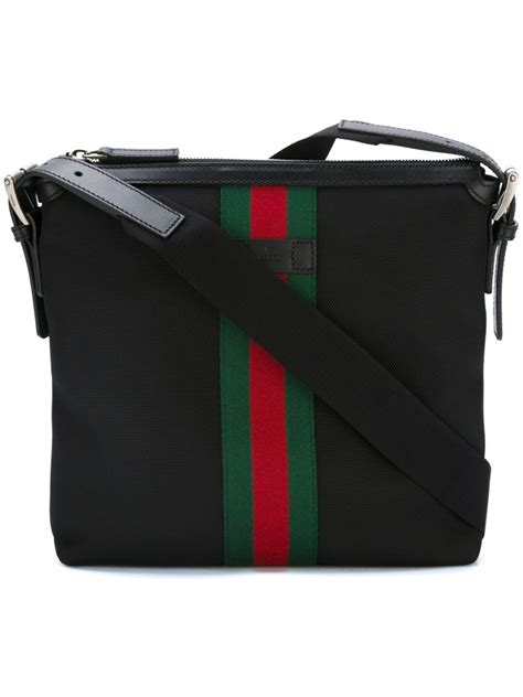 A Letter For A Gucci Bag by Gucci Techno Messenger Bag In Black For Lyst