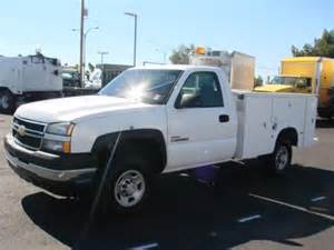 Chevrolet Utility Truck For Sale Chevrolet 2500 Hd 2006 Chevrolet 2500 Hd Service
