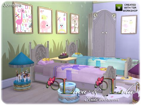 bedroom for 4 kids the sims resource kids bedroom luca lola by jomsims