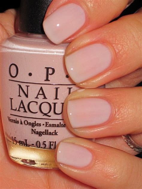 opi light pink nail polish opi bubble bath i get this color all the time when i m