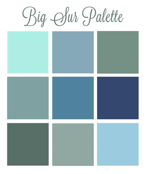 Bedroom Paint Colors 2016 big sur my personal color palette pet photography of