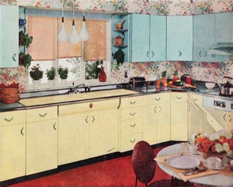 1956 Youngstown Kitchen Mid Century Steel Cabinets 1950 Kitchen Design