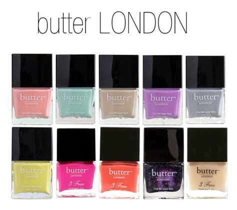 butter london nail polish colors the makeup lady nail polish round up
