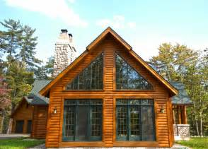chalet homes chalet style hybrid log home hybrid log by dickinson homes