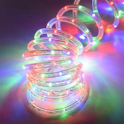 18 led rope tube light multi color