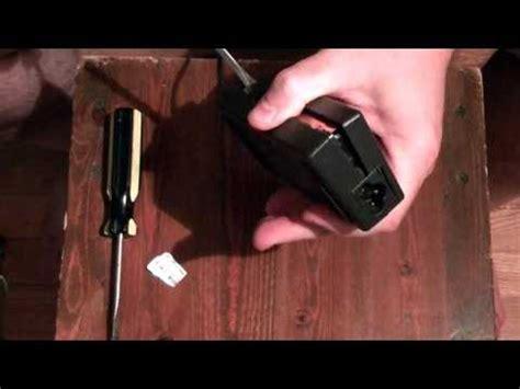 Cara Membuka Adaptor Laptop Asus how to repair a ac adapter power supply for