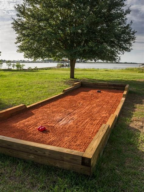 build a bocce court in backyard 1000 images about bocce court on pinterest beautiful