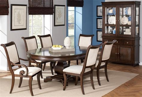 oval dining room sets harris oval dining room set from coaster 104111
