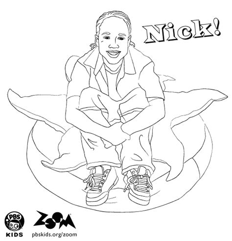 zoom coloring page zoom printables nick s coloring page pbs kids