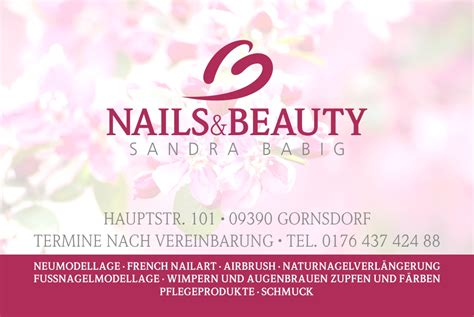 Schaufensterbeschriftung Nagelstudio by Metzlermedia Nails Beauty In Gornsdorf