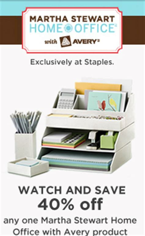 10 off martha stewart living home office at home staples new 40 off any one martha stewart home office