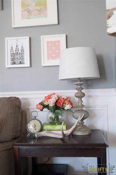 Coral Room Decor by Coral And Green Great Room Reveal