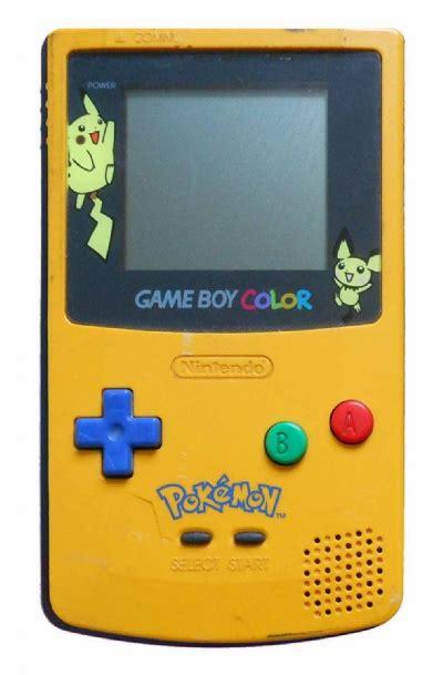 buy boy color console yellow blue cgb