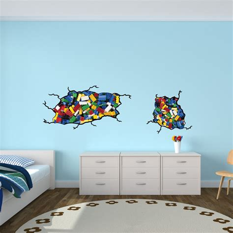 kids bedroom decals kids room ideas 15 lego room decor style motivation