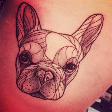 french bulldog tattoo my new bulldog tattoos i