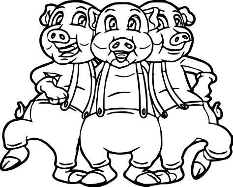 three pigs coloring pages three pigs coloring page wecoloringpage
