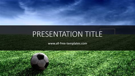 Soccer Powerpoint Template All Free Templates Free Soccer Powerpoint Template