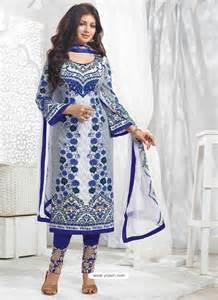 ayesha takia navy blue cotton salwar kameez punjabi suit