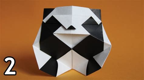 How To Make Origami Panda - origami panda rom 225 n d 237 az part 2