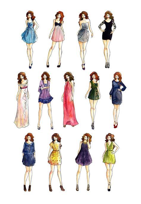fashion illustration dresses dress styles fashion illustration by lousasa on deviantart