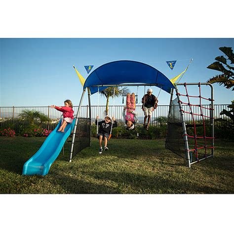 ironkids swing sets ironkids inspiration 300 refreshing mist swing set with