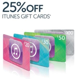 Itune Gift Card On Sale - expired save 25 off itunes gift cards at target gift cards on sale