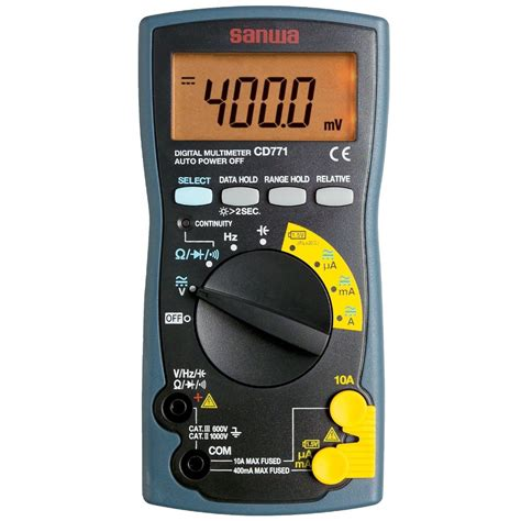Multimeter Digital Sanwa Pc510 sanwa digital multimeter cd 771 multimeters cl
