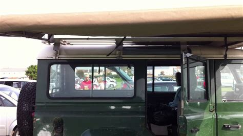 hannibal awning for sale hannibal 2 4m roof rack and awning on a land rover