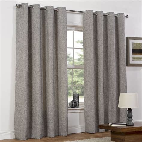 curtains in wilko basketweave eyelet lined curtains 167x137cm