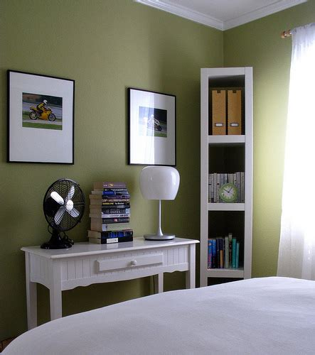 green painted walls green wall paint eclectic bedroom benjamin moore
