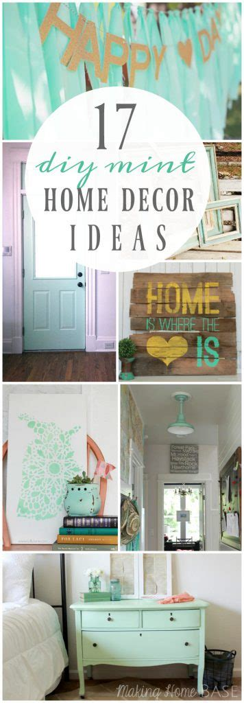 mint home decor 17 diy mint home decor ideas