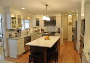 galley kitchen with island layout ideas photos types islands