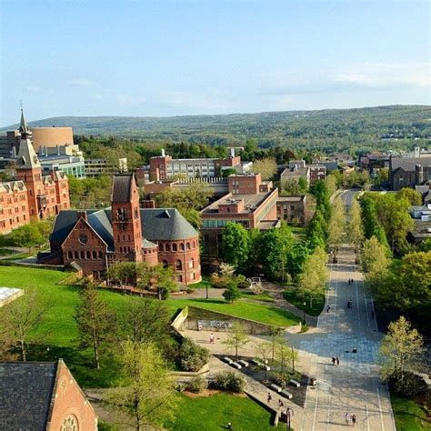 ithaca college themes and perspectives looking forward to cornell in the spring the cus is so