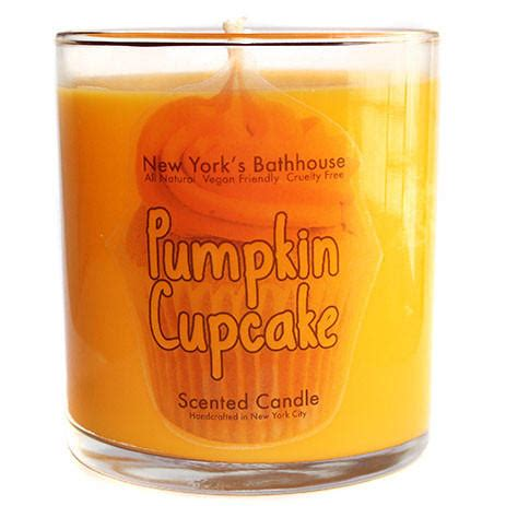Best Scented Candles New York pumpkin cupcake scented candle from new york s bathhouse