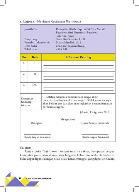 Buku Dari Pesantren Untuk Dunia Kisah Kisah Inspiratif Kaum Santri Ol bahasa indonesia kelas x kurikulum 2013 revisi 2016