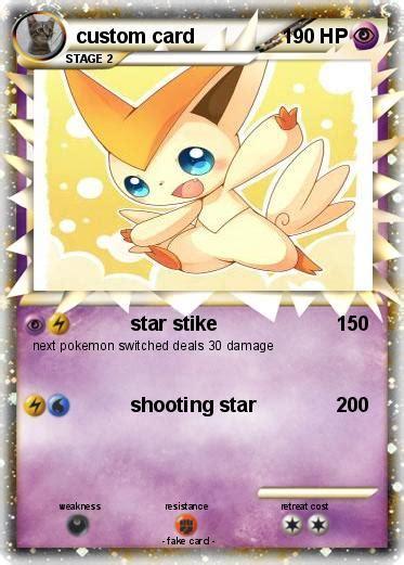 design and print your own pokemon card pok mon card pin design and print your own pokemon card pok 233 mon card
