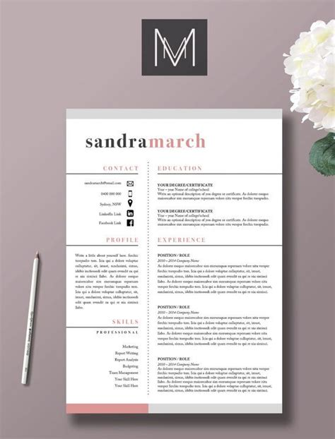 M I Resume Template by 25 Best Ideas About Creative Resume Design On