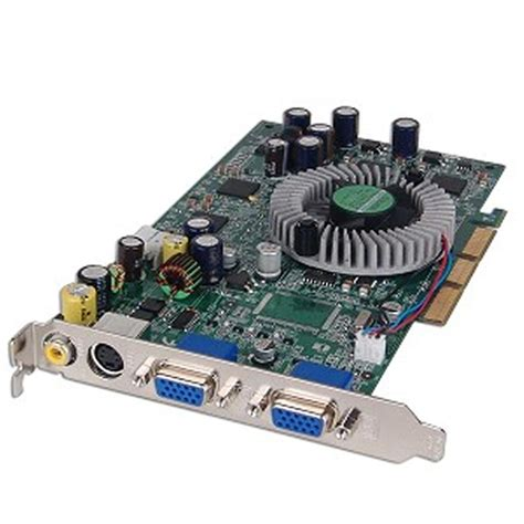 Vga Card Dual medion ms 8934 radeon 9800xl 128mb agp dual vga card w tv out av out