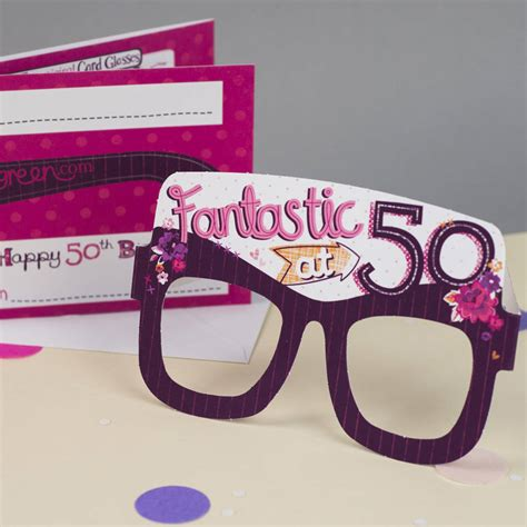 50th Birthday Cards For Him 50th Birthday Card By Tandem Green Notonthehighstreet Com