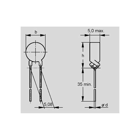 ptc thermistors for overcurrent protection c 965 ptc thermistors for overcurrent protection elpro elektronik
