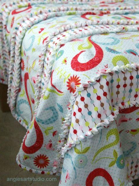 Diy Baby Quilt by Easy And Simple Diy Baby Rag Blanket Diy
