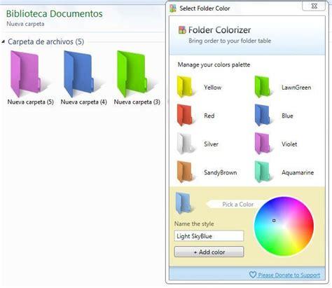 cambiar imagenes automaticamente html cambiar el color del icono de cualquier carpeta en windows