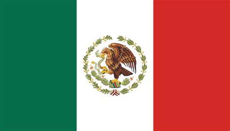 file flag of mexico 1934 1968 svg wikimedia commons