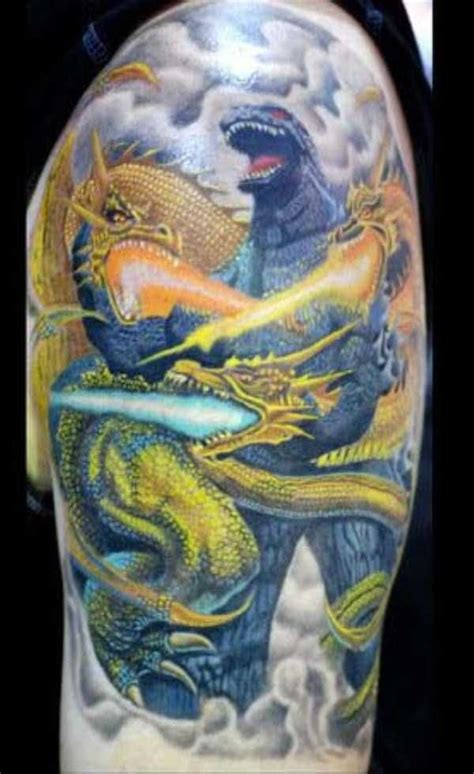 godzilla tattoos 30 seriously godzilla tattoos 30 photos