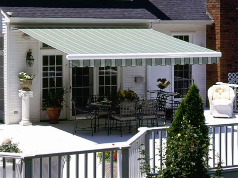 Inexpensive Retractable Awnings by Retractable Patio Awnings To Fit Any Budget Pyc Awnings