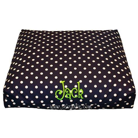 monogrammed dog bed design your own monogrammed dog bed medium