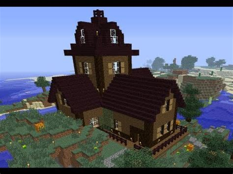 haunted house in minecraft minecraft timelapse halloween haunted house youtube