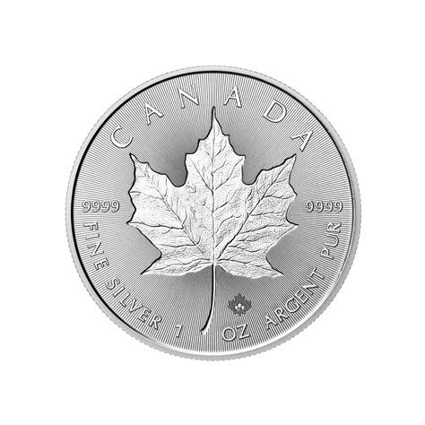 1 oz 2018 canadian maple leaf silver coin 1 oz coin 2018 royal canadian mint silver maple leaf
